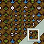 Christmas pattern 2 — Stok Vektör