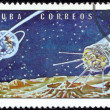 Stamp Soviet Space Luna 1 — Stock Photo #37051731