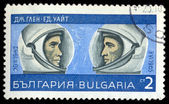 Astronauts J. Glenn and Ed. White — Stock Photo