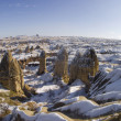 Stock Photo: Valley of love in Goreme, Cappadocia