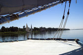 Felucca sailing — Stock Photo