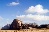 The Wadi Rum Desert in Jordan. — Stock Photo