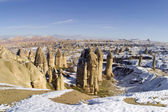 The valley of love in Goreme, Cappadocia — Stock Photo