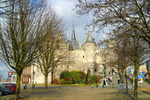 Typical Flemish Architecture — Foto Stock