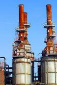 Industrial factories — Stock Photo