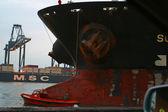 Dock yards — Stock Photo
