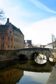 Architecture of Bruges — Stockfoto
