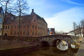 Architecture of Bruges — Stock fotografie