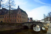 Architecture of Bruges — Foto de Stock