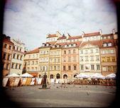 The Castle Square — Stock Photo