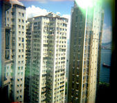 High density living in Hong Kong. — Stock Photo