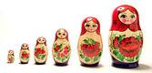 Russian Dolls. — Stock Photo