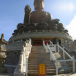 The Tian Tan Buddha — Stock Photo