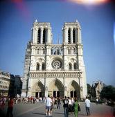 The Cathedrale De Notre Dame De Paris — Stock Photo