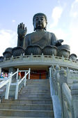 Tian Tan Buddha Lantau — Stock Photo