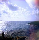 El mar mediterráneo. — Foto de Stock
