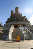 The Tian Tan Buddha — Stock Photo