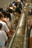 Escalator in Hong Kong. — Stock Photo