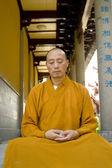 僧侶瞑想します。 — ストック写真