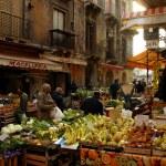 Market in Sicily — Stok fotoğraf