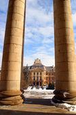 The Baroque Architecture — Стоковое фото