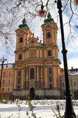 The Baroque Architecture — Stock Photo