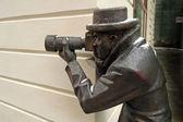 Photographer statue — Stock Photo