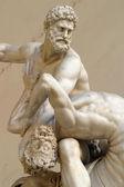 Estátua no galleria palazzo — Foto Stock