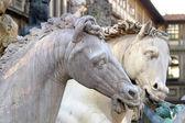 Statue of Cosimo I de' Medici — Stock Photo
