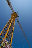 Top van de toren kraan — Stockfoto