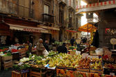 Market in Sicily — Stock Photo