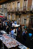 Market in Sicily — Stock Photo