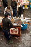 Market in Sicily — Stockfoto