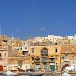 Limestone house in Malta. — Stock Photo