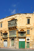 Limestone house in Malta. — Foto de Stock