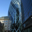 Gherkin building (30 St Mary Axe) — Stock Photo