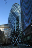 Gherkin building (30 St Mary Axe) — Foto de Stock