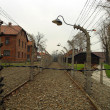 The electric fence in Auschwitz — Stock Photo #37409469