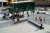 Federation Square Melbourne — Stock Photo