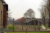 Auschwitz concentration camp — Stockfoto