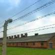 Auschwitz concentration camp — Stock Photo #37410181