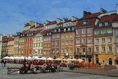 Arquitectura de varsovia — Foto de Stock