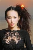 Sexy kobieta azji — Zdjęcie stockowe