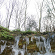 Icicles forming on rocks — Stock Photo #37422515