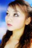 Attractive asian woman — Stock Photo