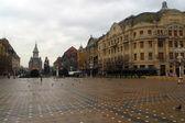 Piata Victoriel pedestrian mall — Stock Photo