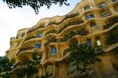 The La Pedrera Antoni Gaudi — Stock Photo