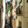 Stock Photo: Narrow hilly streets