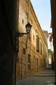 Narrow hilly streets — Stock Photo
