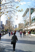 Straat in melbourne — Stockfoto